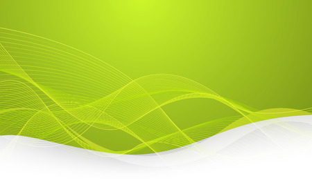 abstrakt gr�n: Abstrakter gr�ner Hintergrund mit Linien. Vector. Clipart Illustration