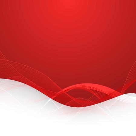 Abstracte rode achtergrond met lijnen. Vector Illustratie. Clip art Stock Illustratie