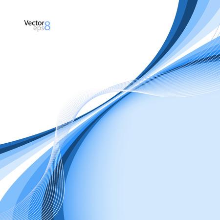 Abstracte blauwe achtergrond. Vector Illustratie. Clip art
