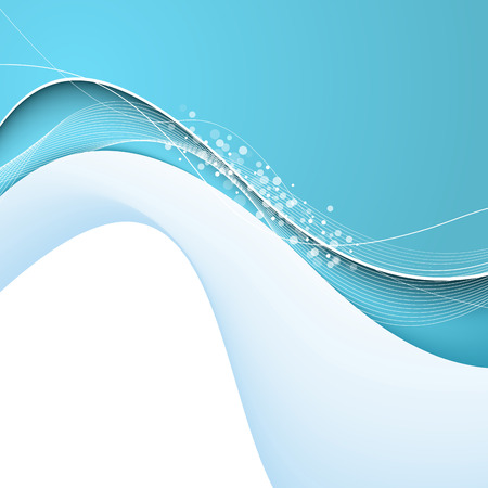 blue lines: Abstract background with blue lines. Vector. Clip-art