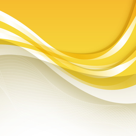 wave abstract: Abstract orange background with wave. Vector. Clip-art