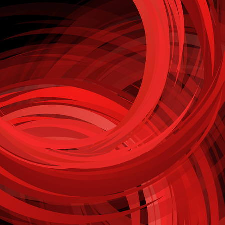 red black: Abstract swirl red background. Vector Illustration. Clip-art
