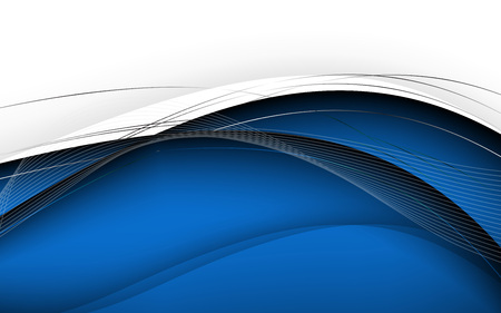Stylish abstract blue background. Vector. Clip-art