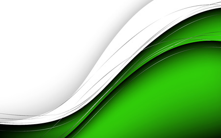Stylish abstract green background. Vector Illustration. Clip-art