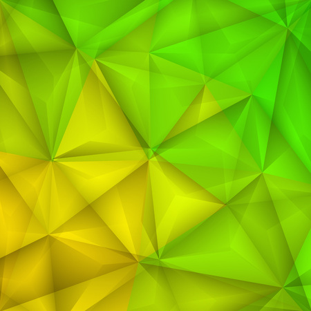 yellow green: Abstract geometrical green and yellow background