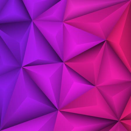 violet background: Abstract geometrical violet background