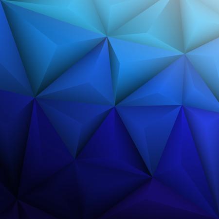 geometrical: Abstract geometrical blue background