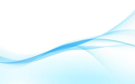 blue waves vector: Abstract blue waves. Vector illustration. Clip-art Illustration