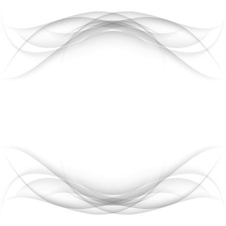 data stream: Abstract white frame - data stream concept. Vector illustration. Clip-art Illustration