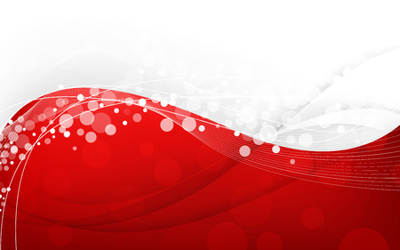 Stylish abstract red background. Vector Illustration. Clip-art