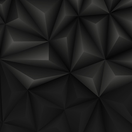 air hole: Abstract geometrical black background. Vector Illustration. Clip-art
