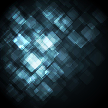surfaces: Blue Modern Business Card Set. Vector. Clip-art