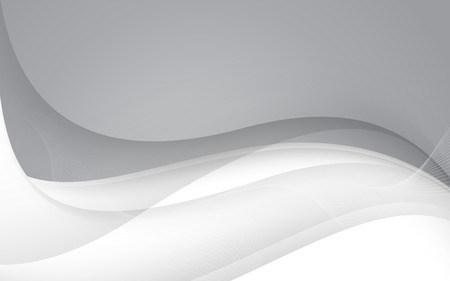 waves: Abstract gray waves - data stream concept