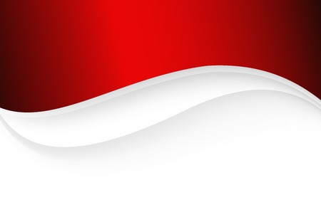 red and white: Stylish abstract background.