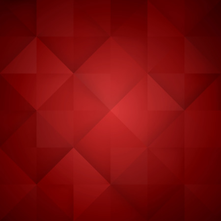 Abstract mosaic red background Ilustração