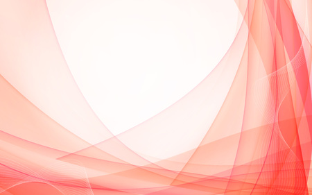 data stream: Abstract red waves - data stream concept. Illustration