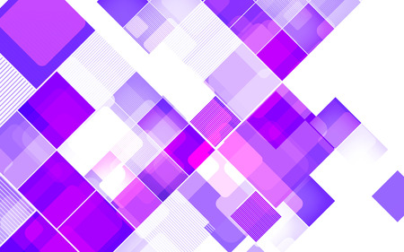 Abstract square violet background Illustration