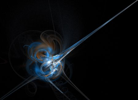 Abstract Blue Beam