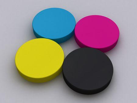 polygraphic: CMYK Circles