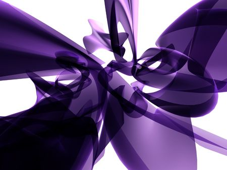Abstract Purple Glass Background Stock Photo