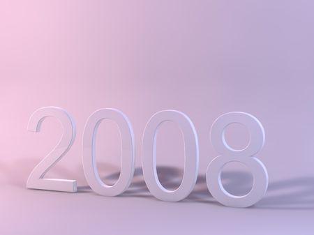 3D 2008 Rendered Archivio Fotografico
