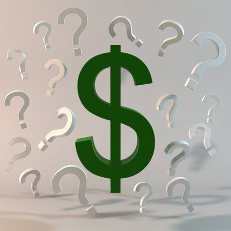 financial questions: Money Questions & Concerns