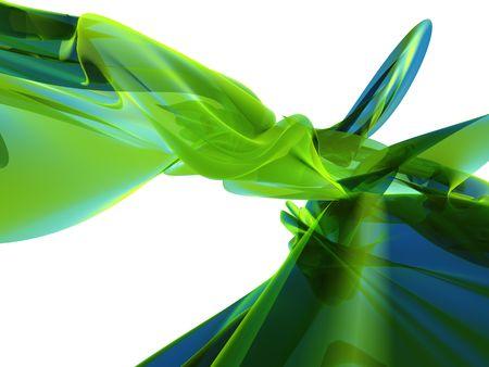 Abstract sfondo verde Archivio Fotografico