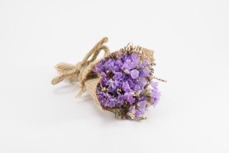 flores secas: Un pequeño ramo de flores secas Foto de archivo