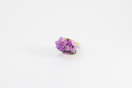 dried flowers: A small bouquet of dried flowers