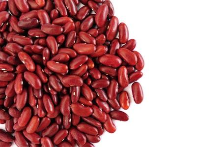 frijoles rojos: Fondo de frijol rojo blanco