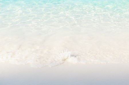 wave and beach background pattern Stock Photo