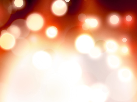 warm light blur bokeh background pattern