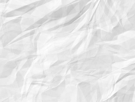 feuille froiss�e: crumped fond du papier blanc Banque d'images