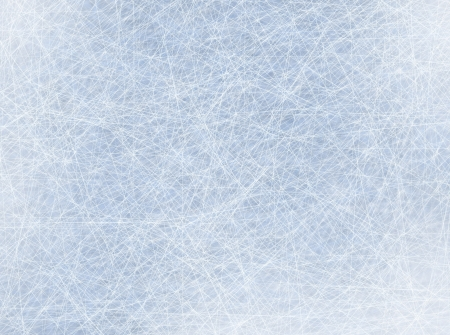 ice surface: ice rink blue background Stock Photo