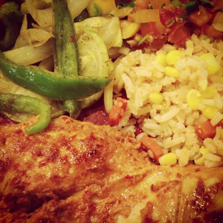 Mexican foods close-up photo