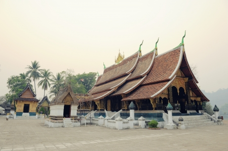 building feature: Wat Xieng Thong Luangprabang