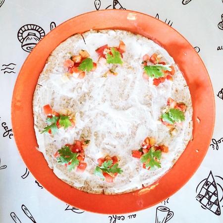 Delicious quesadilla Stock Photo