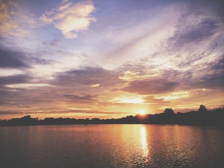 Sunset in Khon Kaen