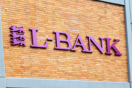 Logo and Lettering of Landesbank Baden-Wuerttemberg, LBBW, Germany's biggest state-backed landesbank lender. Germany
