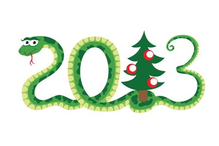 snake as symbol of new year