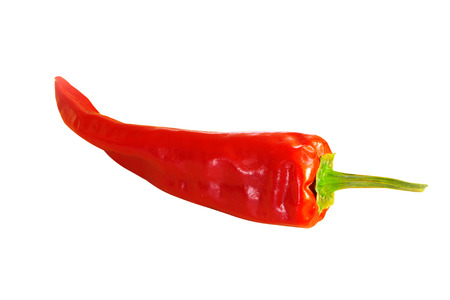chili pepper, isolated on white background, cooking