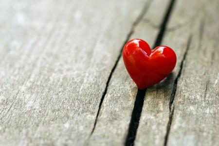 love wallpaper: D?a de San Valent?n con el coraz?n Foto de archivo