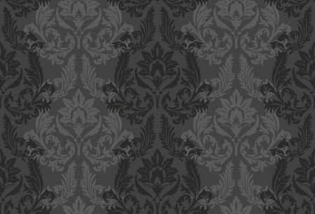 baroque ornament: background for textile design   Wallpaper, background, baroque pattern Illustration
