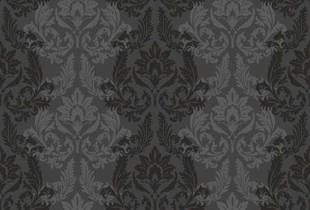 background for textile design   Wallpaper, background, baroque pattern Illusztráció