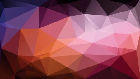 Abstrakte bunte geometrische wallpaper besteht aus Dreiecken Illustration