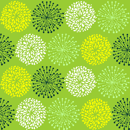 Seamless doodle pattern. Tileable background for textile, wrapping paper and cloth. Illusztráció