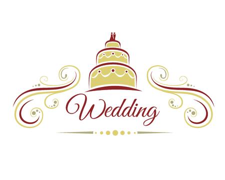 decoracion boda: Decoraci�n de la boda con un pastel de bodas