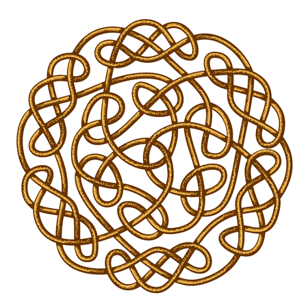Big celtic knot, celtic ornament, vector illustration