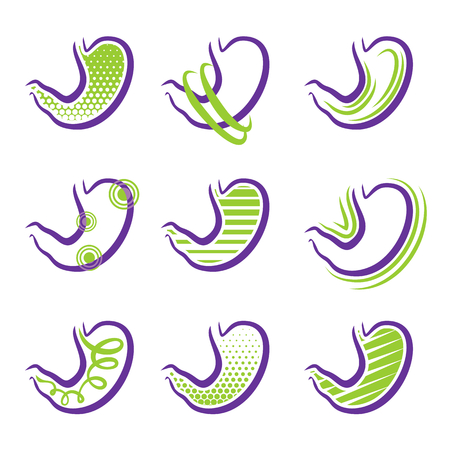 digestion: All about stomach - various diseases and treatment Illustration