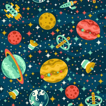 Nahtlose Raum-Muster